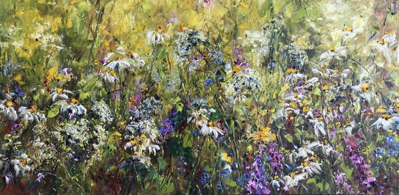 Диана Владимировна Маливани. Summer Flowers