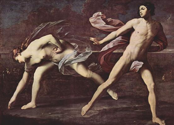 Guido Reni. Atlanta and Hippomenes