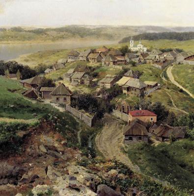 Григорий Федорович Ярцев. Село