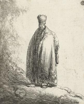 Jan Lievens. Portrait of a man in Eastern dress