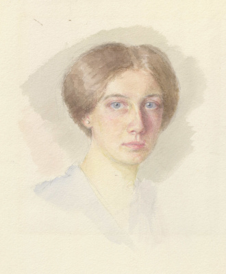 Евгений Иосифович Буковецкий. Portrait of a young woman