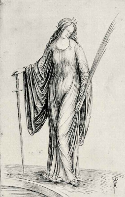 Якопо де Барбари. Святая Екатерина
