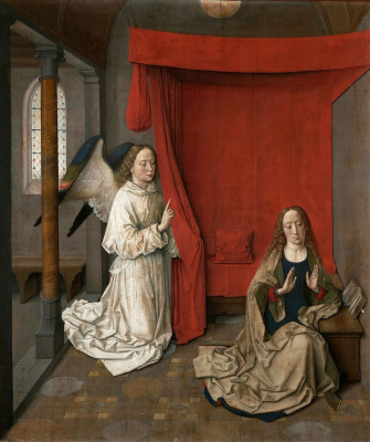Dirk Bouts. The Annunciation