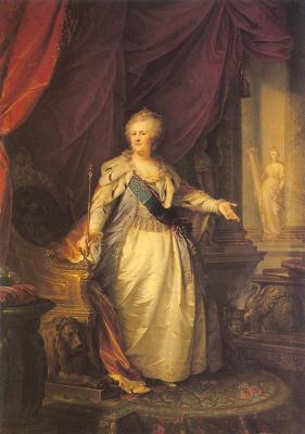 Иоганн Баптист Лампи-мл.. Екатерина II