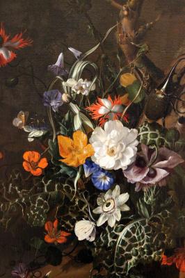 Рашель Рюйш. Лесная опушка с цветами