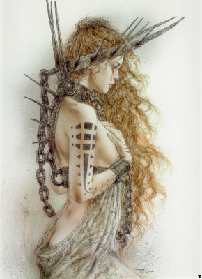 Luis Royo. Tattoo 11
