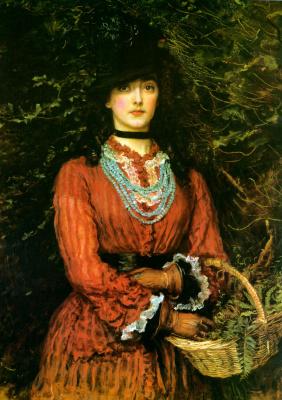 John Everett Millais. Miss Evelyn Tennant
