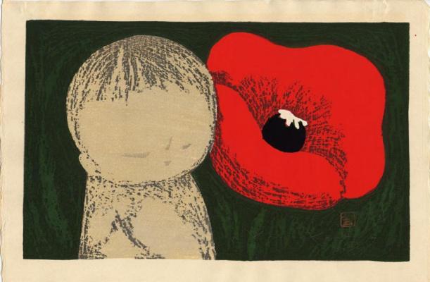 Каору Кавано. Красный цветок