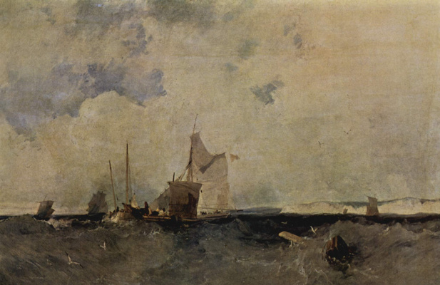 Richard Parkes Bonington. Sea view