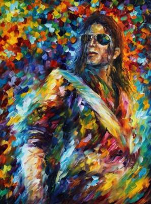 Leonid Afremov. Michael Jackson