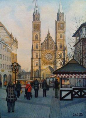 Stepan Vladimirovich Kashirin. St. Lawrence's Church. Nuremberg.