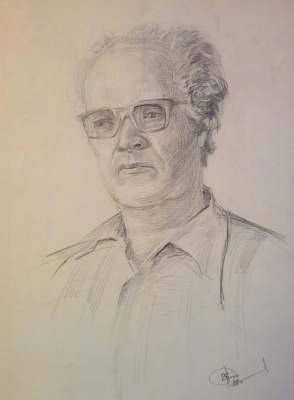 Дмитрий Аркадьевич Лаптев. Портрет Аркадия Лаптева