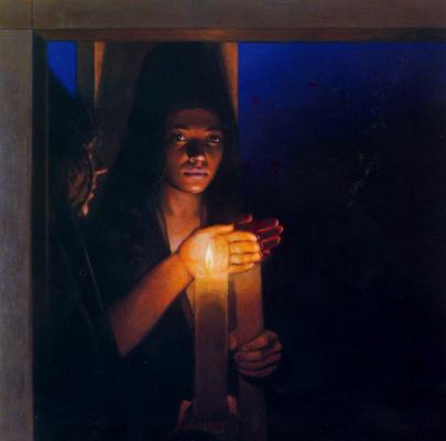 Альберто Донэр. Свеча