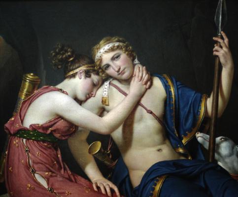 Прощание Телемаха и Ичарис