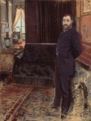 Джузеппе де Ниттис. Автопортрет