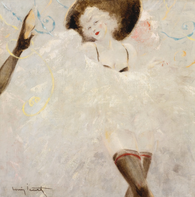 Icarus Louis France 1888 - 1950. Kan Cana Dancer.