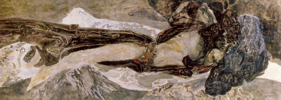Mikhail Vrubel. Flying Demon