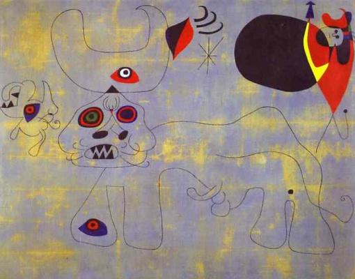 Joan Miro. Bullfight