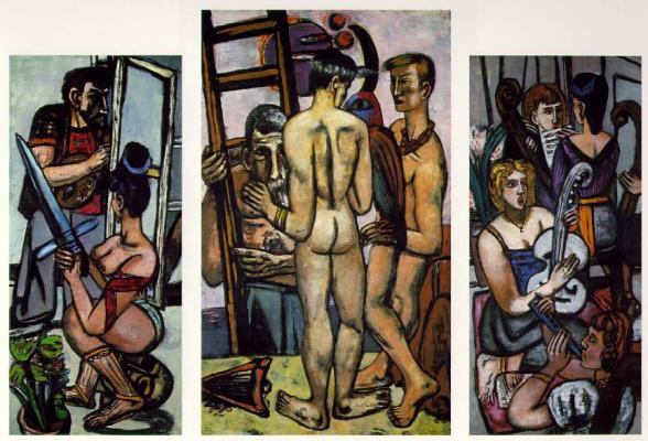 Max Beckmann. The Argonauts