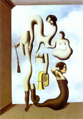 René Magritte. Acrobatic exercises