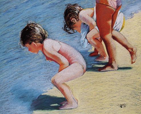 Рут Ломбарди. Пляж Беллес