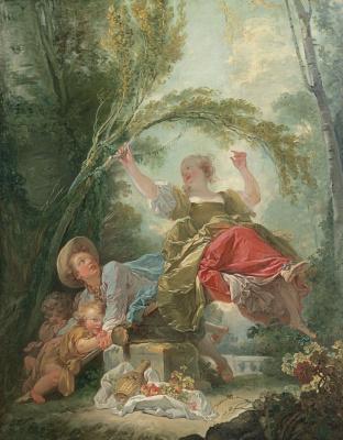 Jean Honore Fragonard. 1Качели