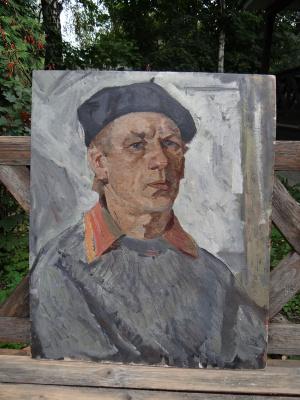 Александр Григорьевич Савичев. Автопортрет