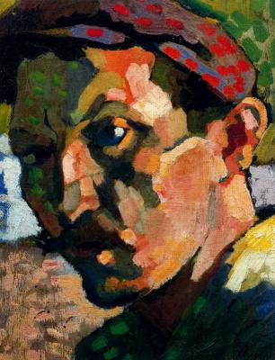 Andre Derain. Self-portrait in a cap