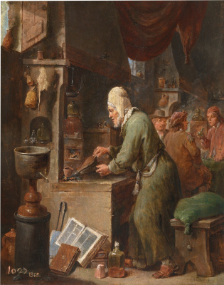 David Teniers the Younger. Alchemist