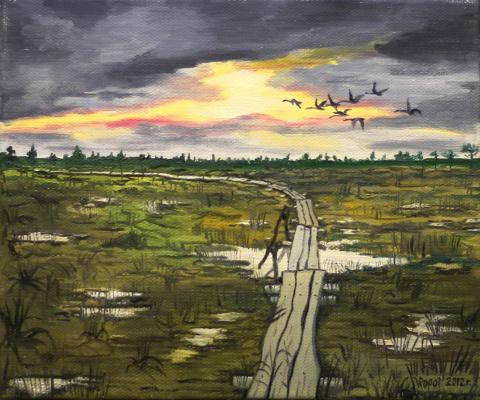 Vladimir Adamovich Ropot. Trail