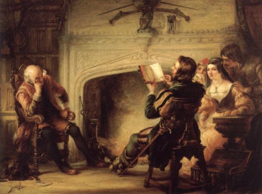 Соломон Александр Харт. Раннее чтение Шекспира