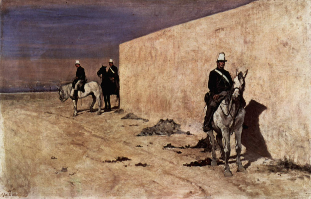 Giovanni Fattori. White wall