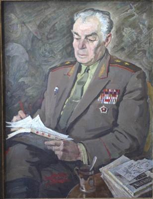 Евгений Иванович Бригадиров. Портрет Лисова И.И., генерал-лейтенанта ВДВ СССР