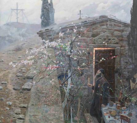 Pavel Viktorovich Ryzhenko. Easter