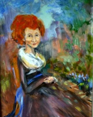 Natasha Monastic. Portrait of a mother