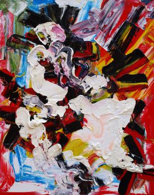 Kandinsky-DAE. Dawn in the workshop