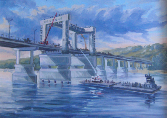 Ivan Vasilyevich Kovacs. Kazansky bridge