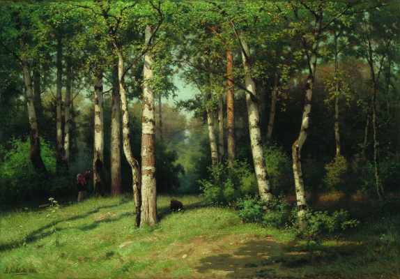 Efim Efimovich Volkov. Noon in the forest