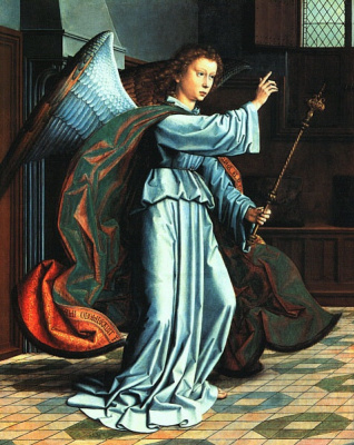 David Gerard. The Angel Of The Annunciation