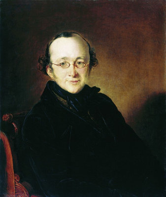 Vasily Andreevich Tropinin. Portrait Of Nikolai Ivanovich Bera