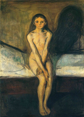Edvard Munch. Puberty