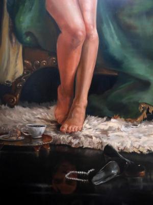 Alexander Giza-Ciobanu. The morning