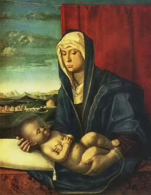 Джентиле Беллини. Мадонна с Младенцем