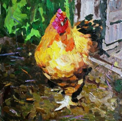 Михаил Рудник. Chickens No. 29