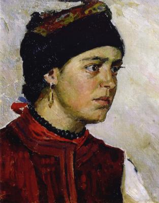 Александр Александрович Мурашко. Портрет молодой женщины