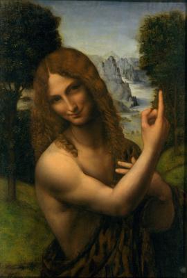 Jan Giacomo Caprotti da Oreno (Salaí). John The Baptist