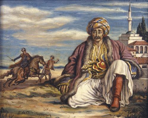 Giorgio de Chirico. Turk