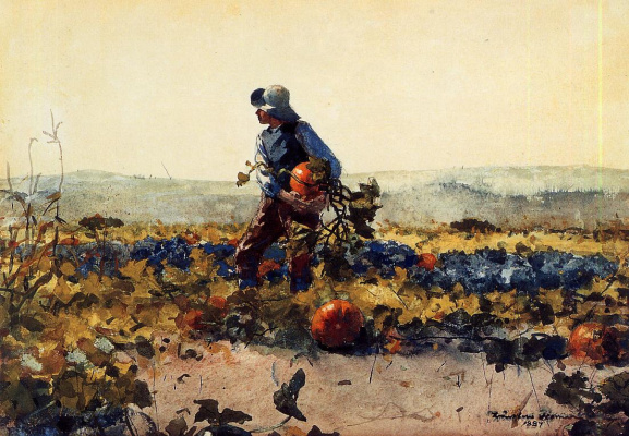 Winslow Homer. Old English song