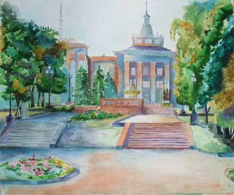 Луганск. Институт культуры и искусств