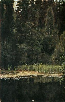 Victor Mikhailovich Vasnetsov. The alyonushkin pond ( Pond in Okhtyrka )